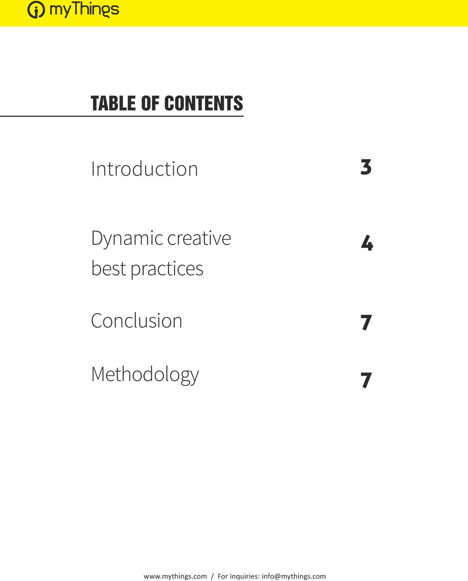 Conclusion Methodology 4 7 7 www.