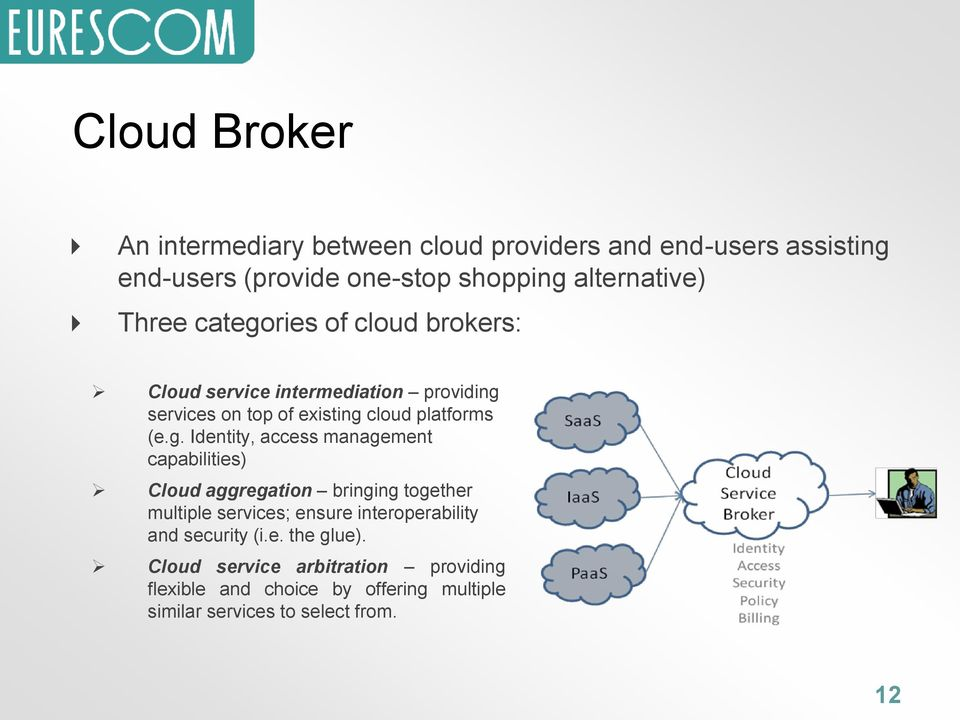 ries of cloud brokers: Cloud service intermediation providing