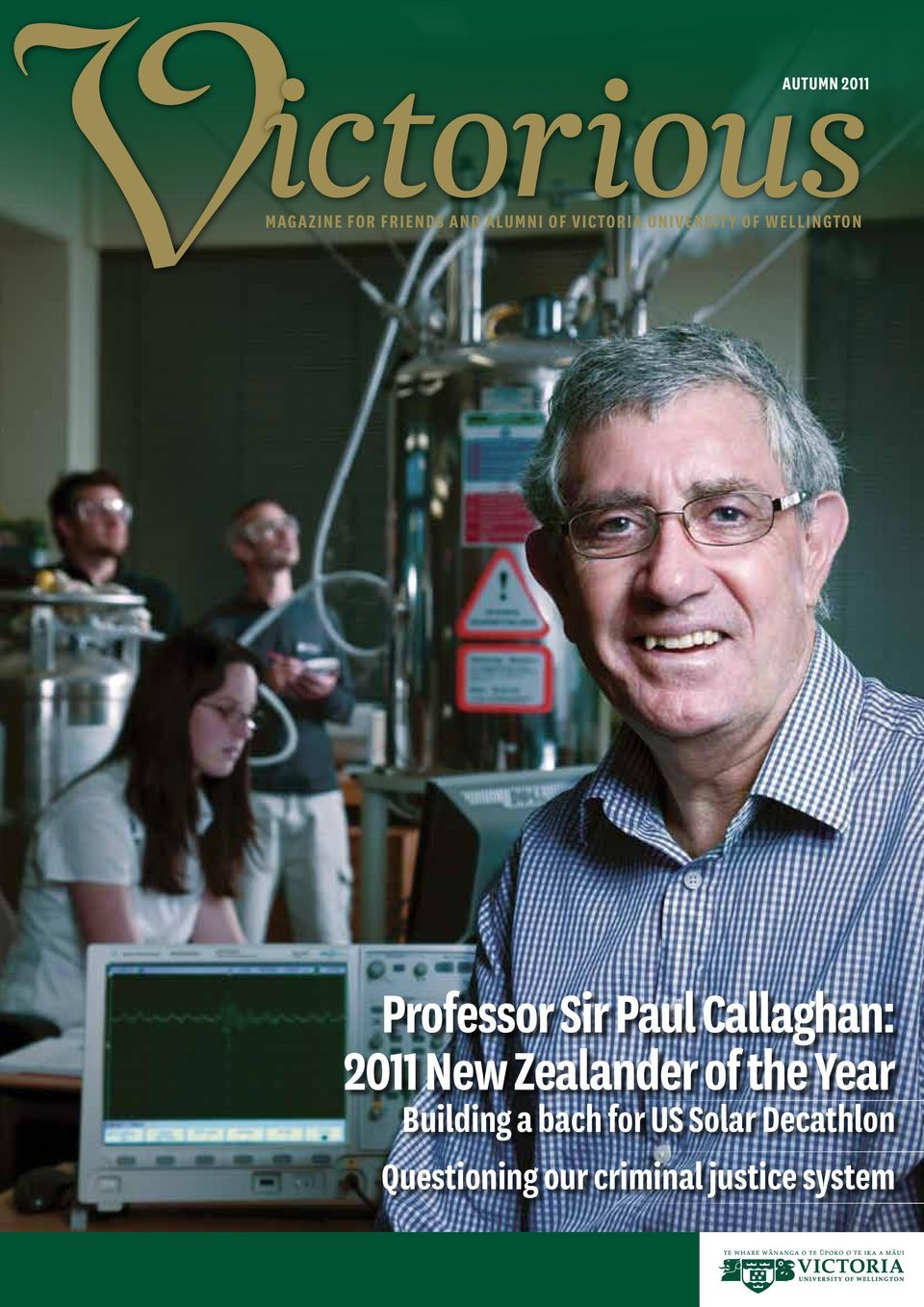 Professor Sir Paul Callaghan: 2011 New Zealander of the Year