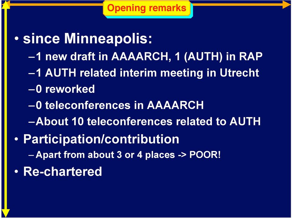 teleconferences in AAAACH About 10 teleconferences related to ATH