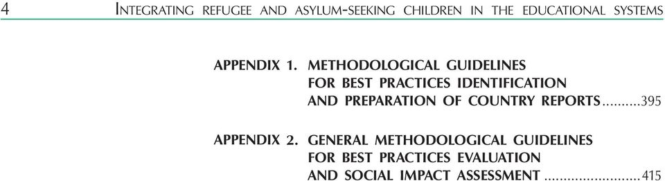 Methodological guidelines for best practices identification and