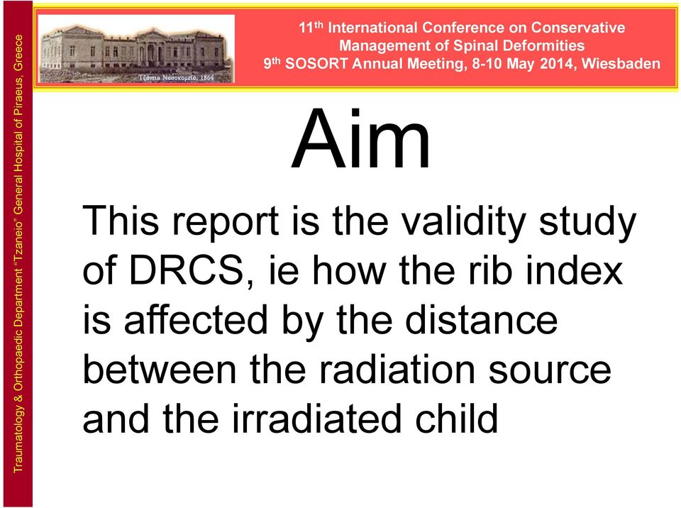 ie how the rib index is affected by the distance