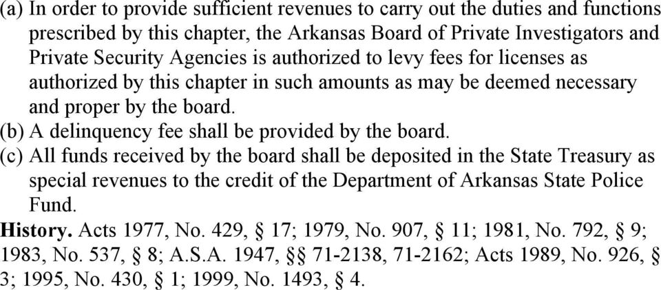 (b) A delinquency fee shall be provided by the board.