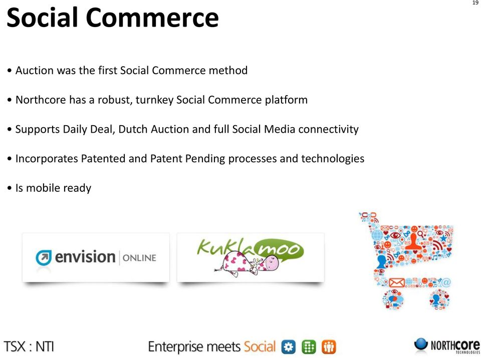 Daily Deal, Dutch Auction and full Social Media connectivity