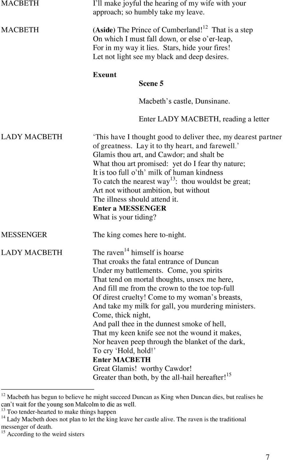 a letter from banquo essay Macduff – banquo comparison essay b pages:4 words:910 this is just a sample to get a unique essay  we will write a custom essay sample on macduff – banquo comparison specifically for you for only $1638 $139/page  a letter from banquo  how macbeth lost his morals.