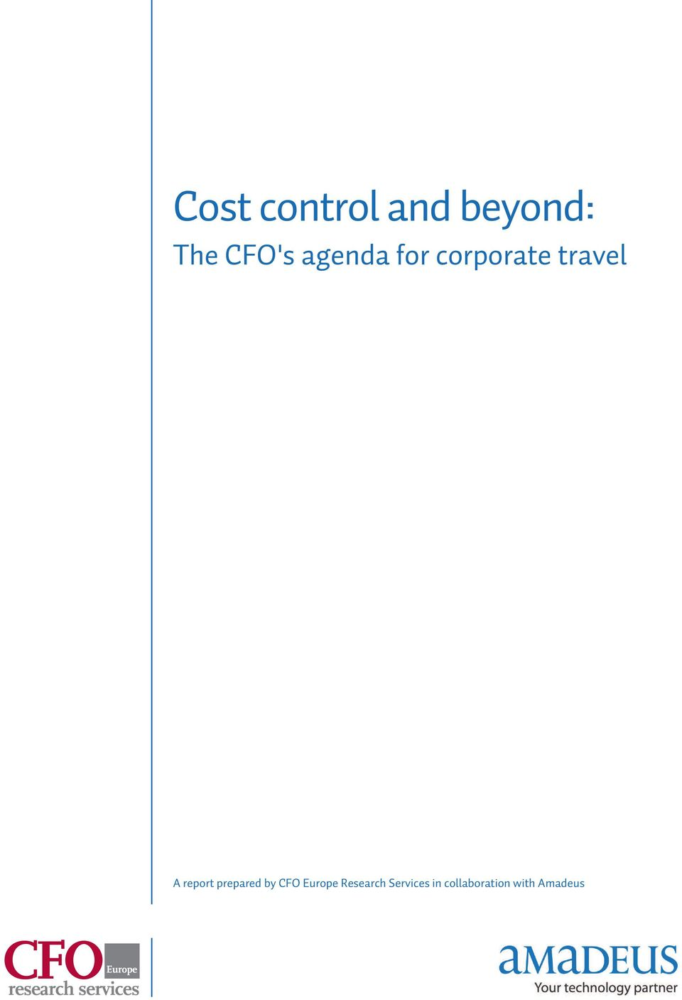 report prepared by CFO Europe