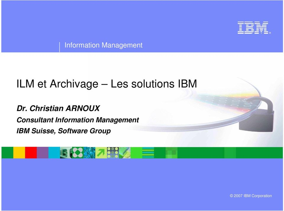 Christian ARNOUX Consultant Information