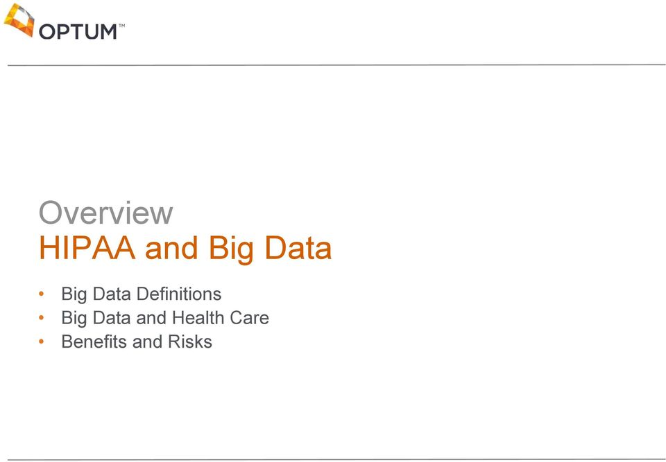 Definitions Big Data