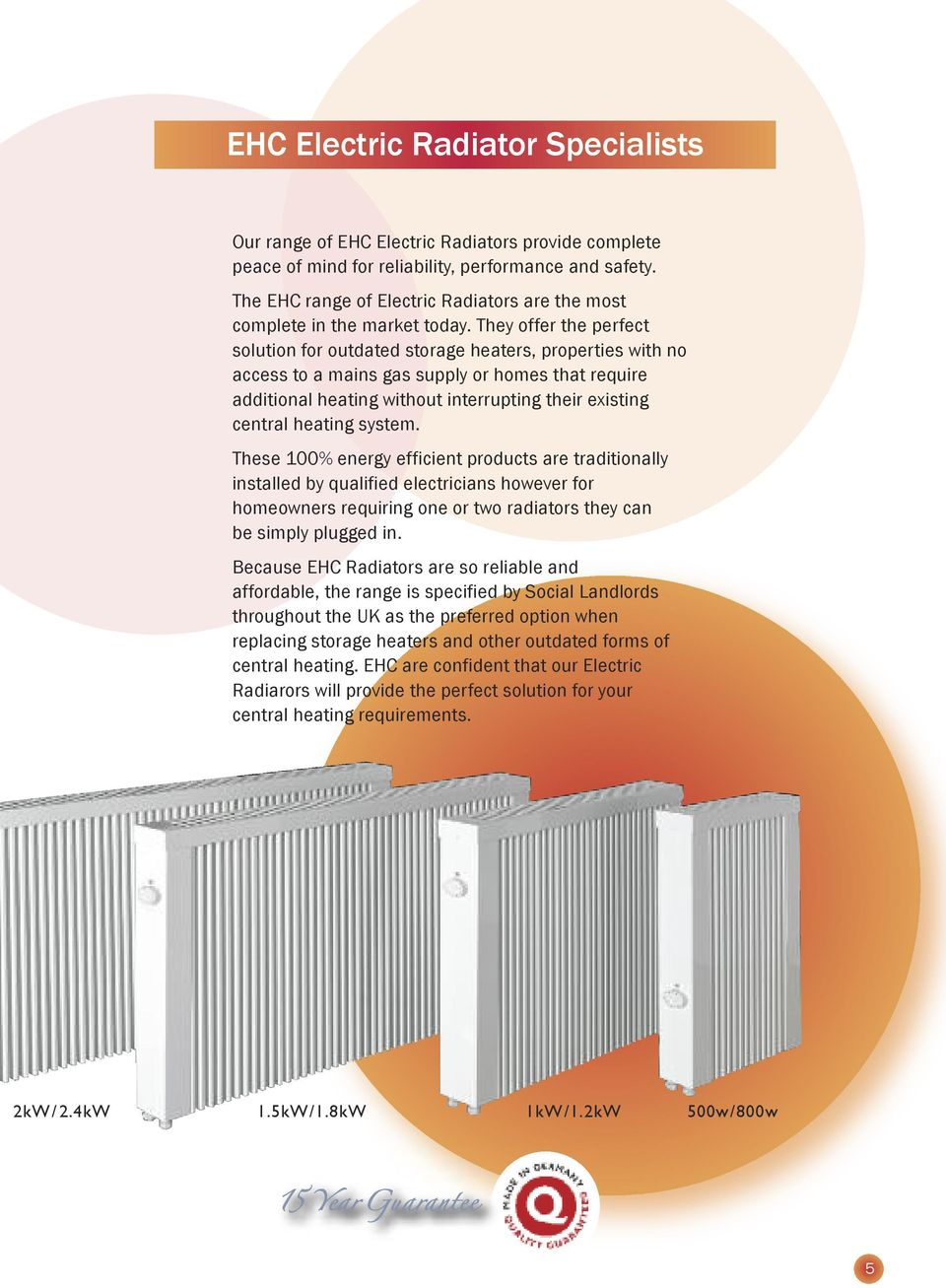 The electric heating company premium quality german for Most effective heating system