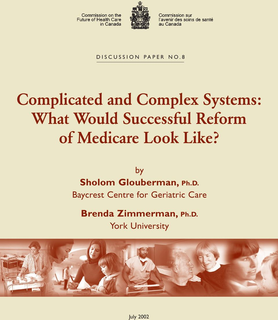 Successful Reform of Medicare Look Like?
