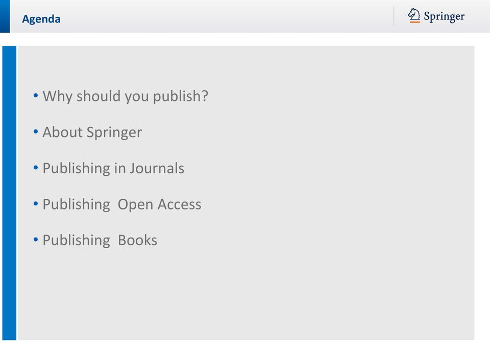 About Springer Publishing