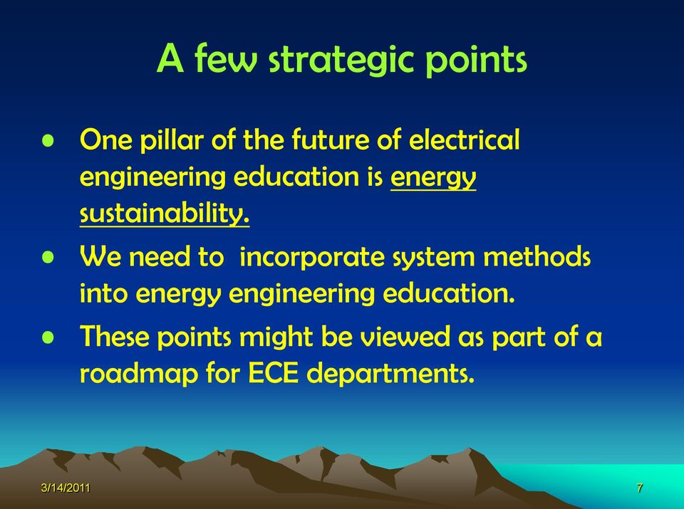 We need to incorporate system methods into energy engineering