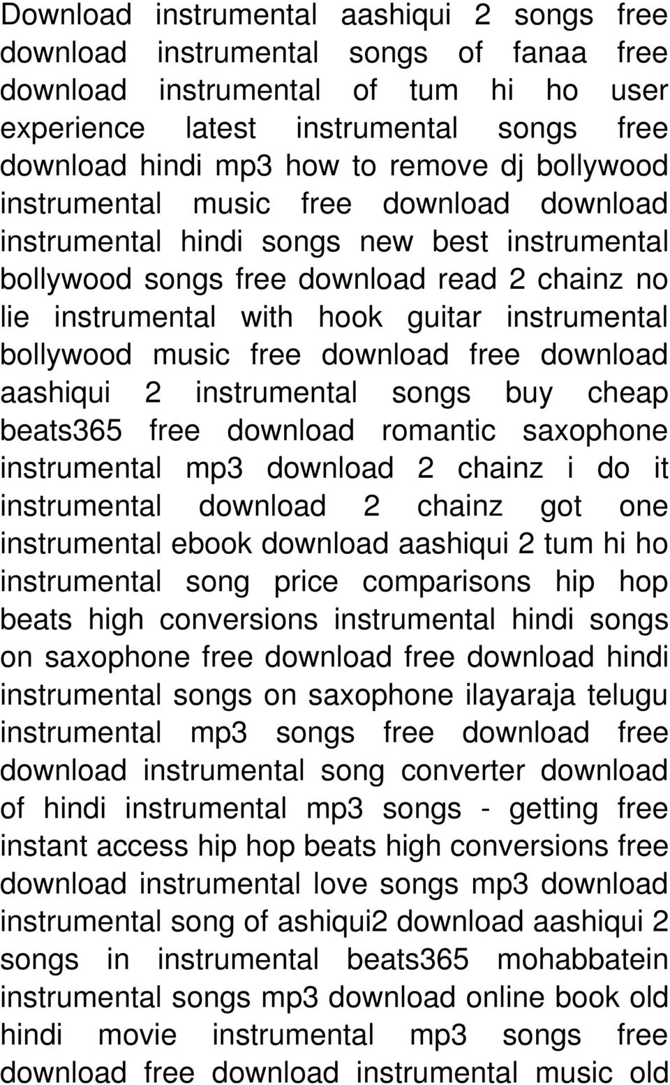 instrumental bollywood music free download free download aashiqui 2 instrumental songs buy cheap beats365 free download romantic saxophone instrumental mp3 download 2 chainz i do it instrumental
