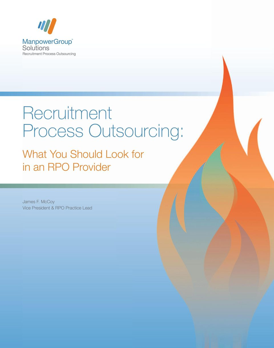 Look for in an RPO Provider