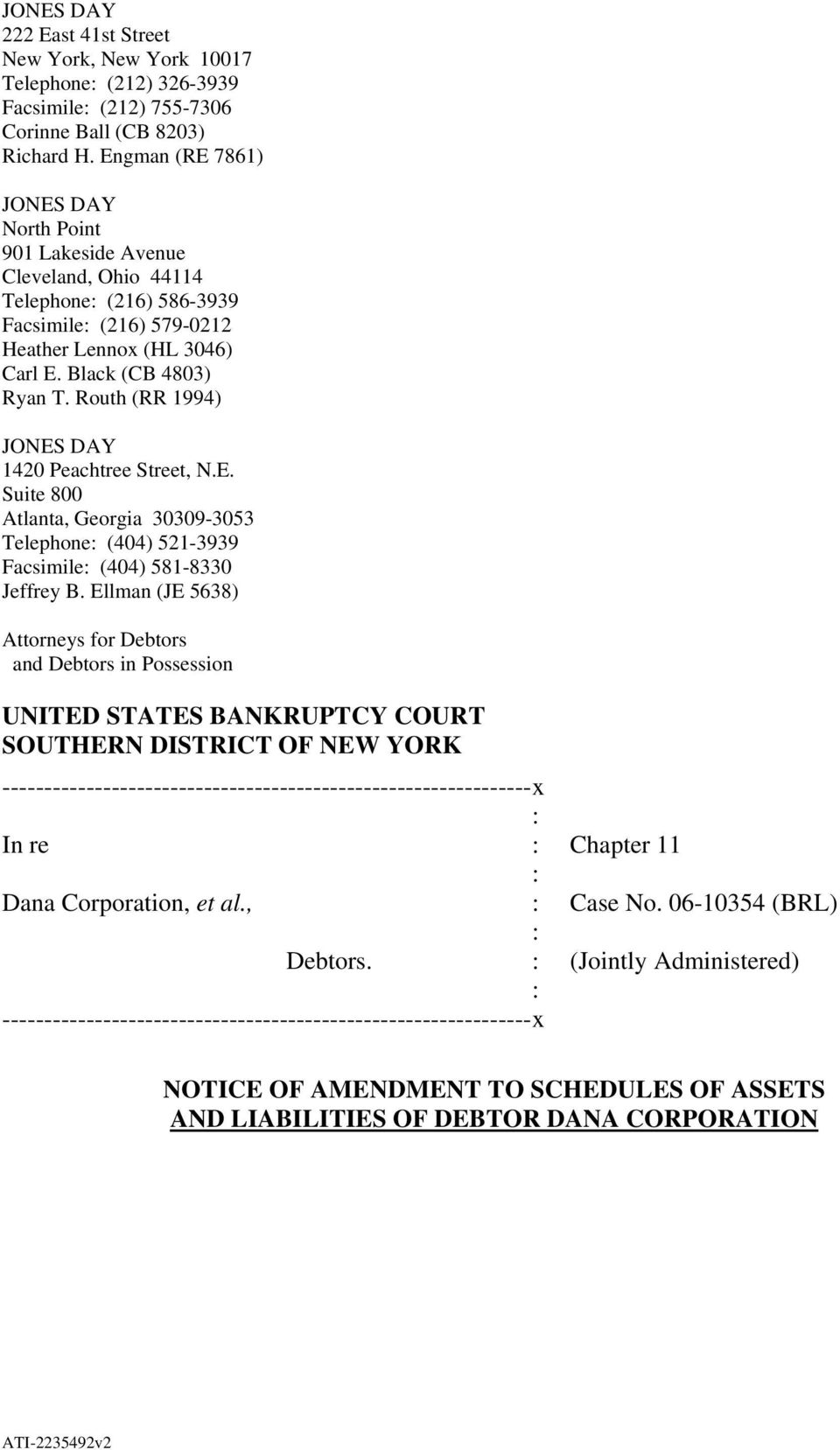 UNITED STATES BANKRUPTCY COURT SOUTHERN DISTRICT OF NEW YORK - PDF