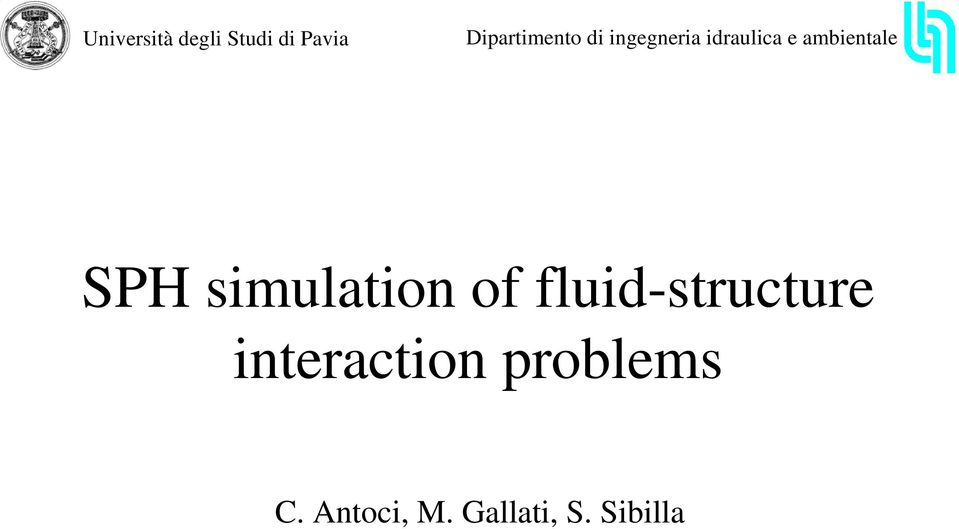 simultion of fluid-structure