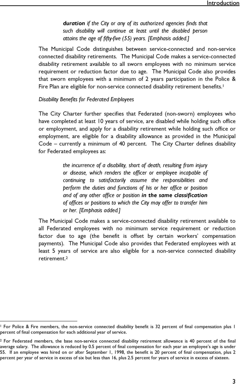 DISABILITY RETIREMENT: A PROGRAM IN NEED OF REFORM - PDF