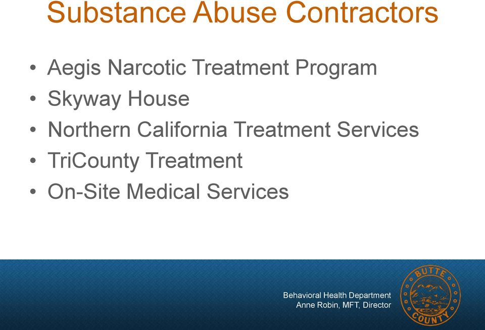 Northern California Treatment Services