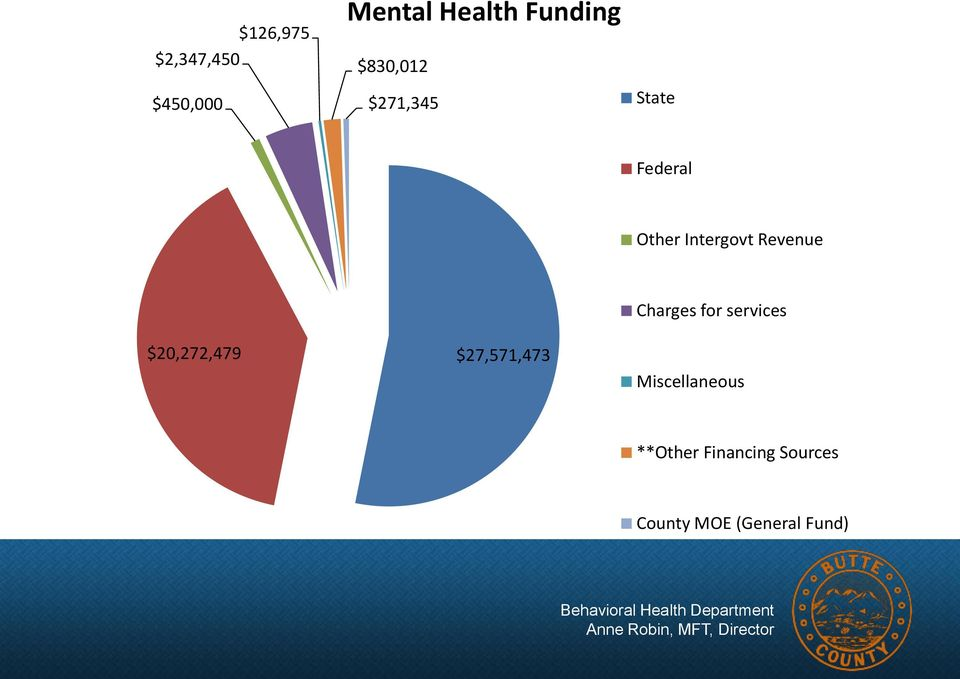 Revenue $20,272,479 $27,571,473 Charges for services