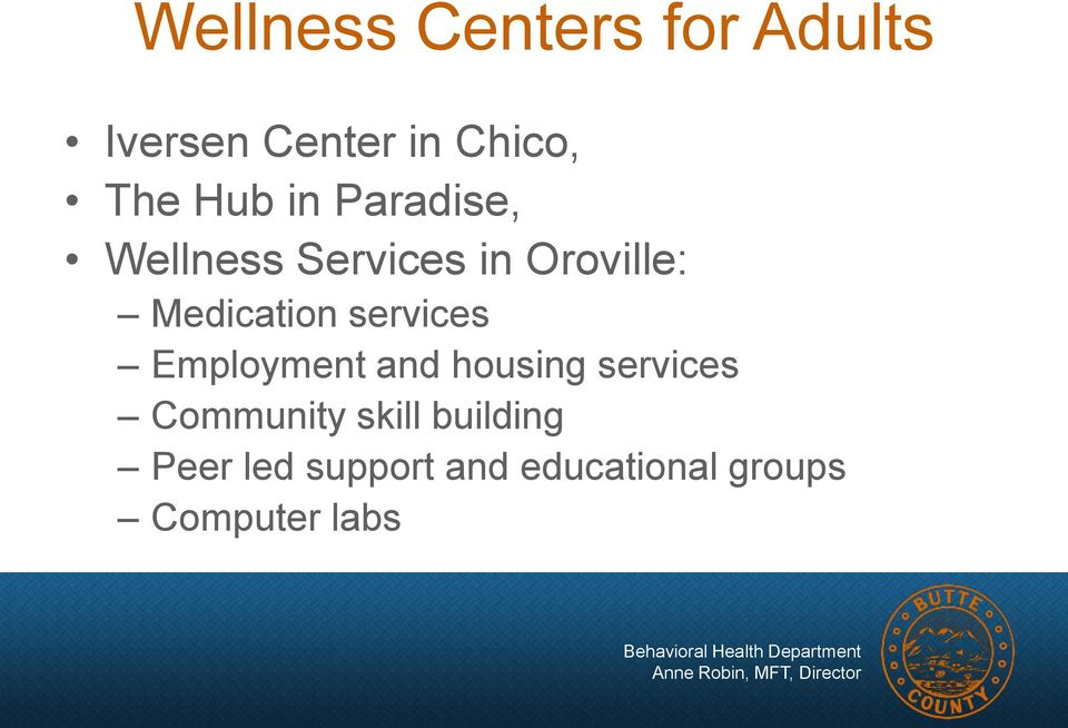 services Employment and housing services Community skill