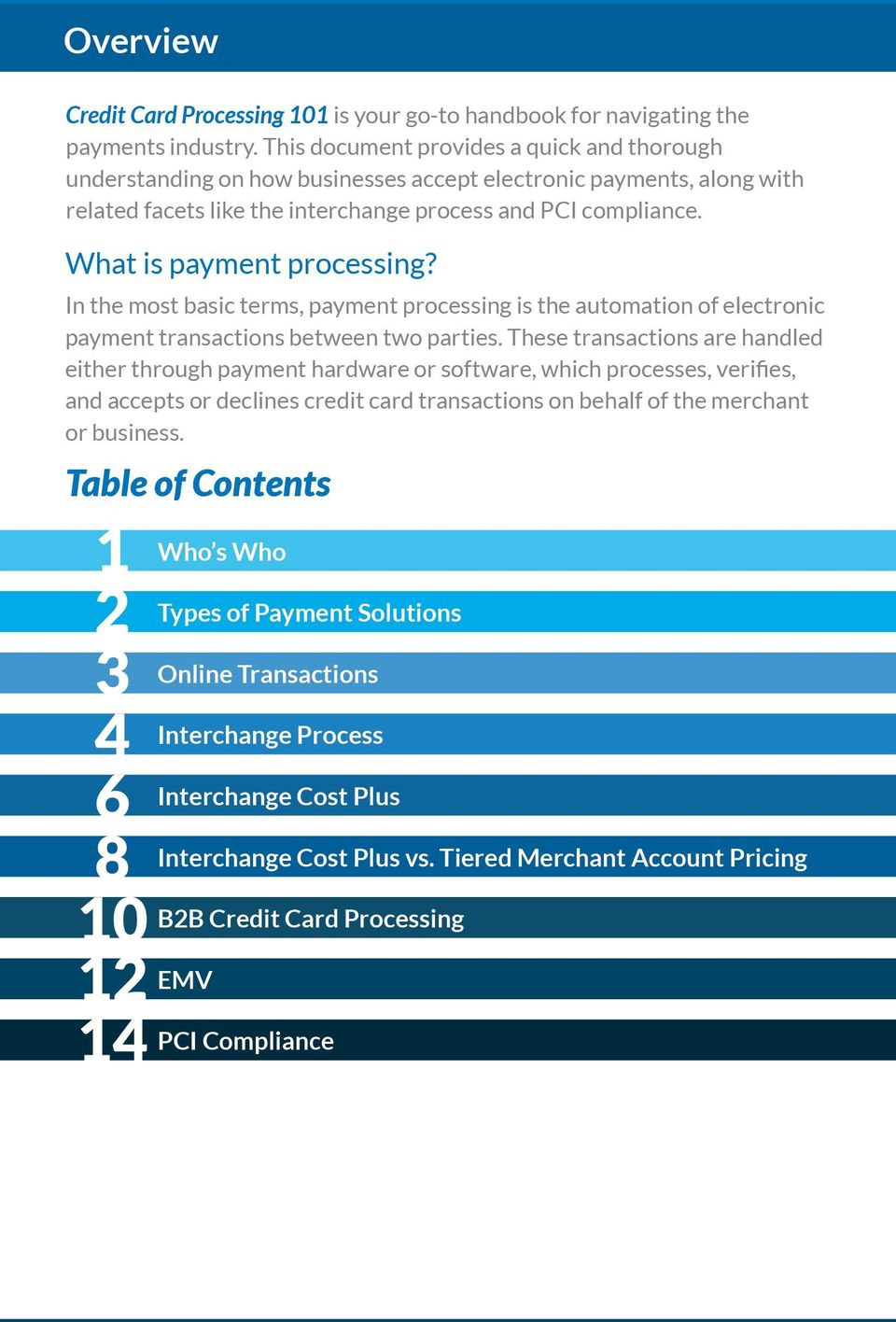 What is payment processing? In the most basic terms, payment processing is the automation of electronic payment transactions between two parties.