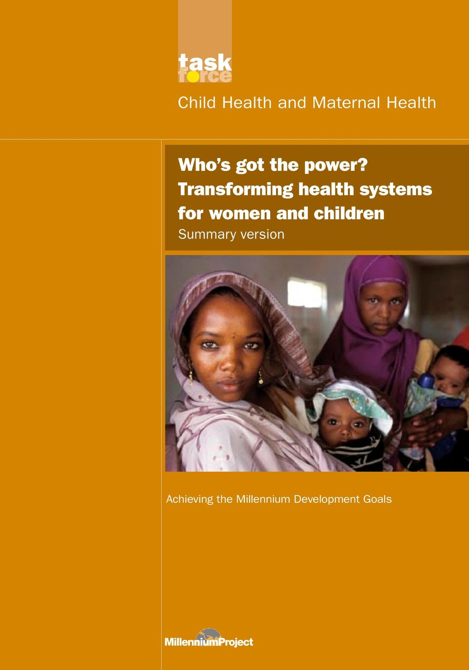 Transforming health systems for women