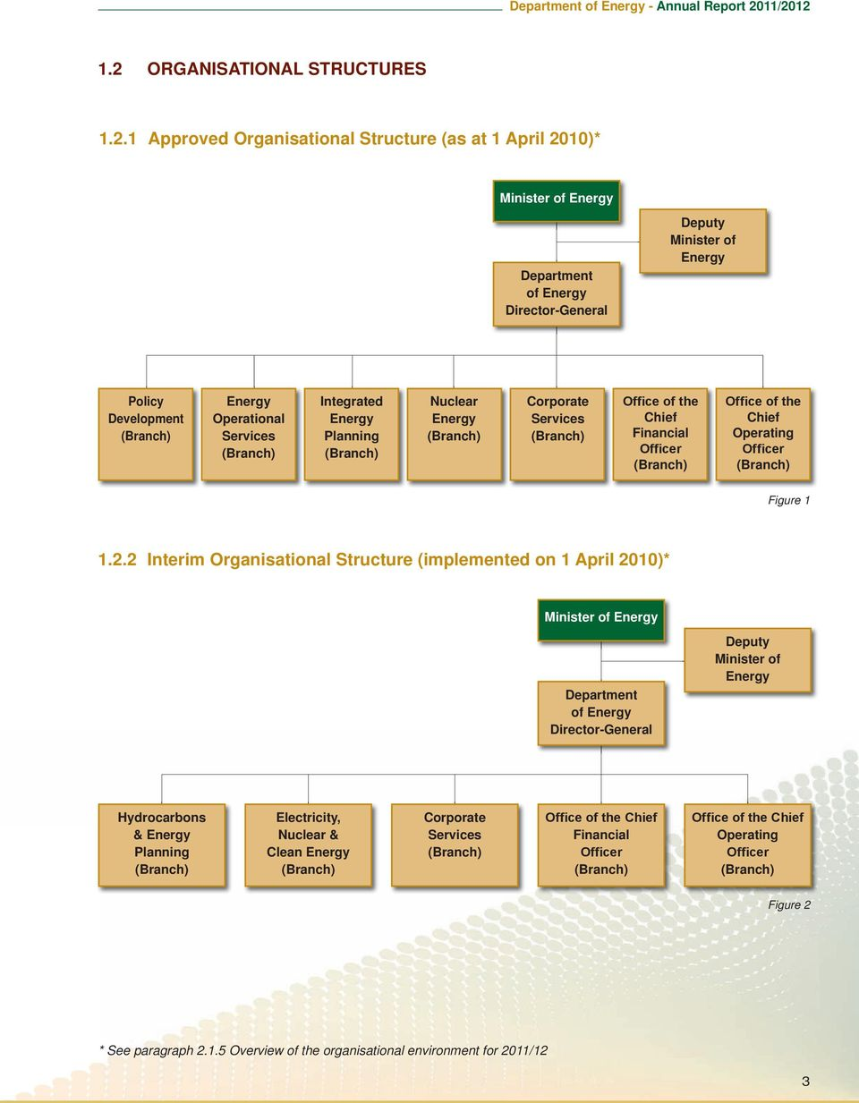 Chief Operating Officer (Branch) Figure 1 1.2.