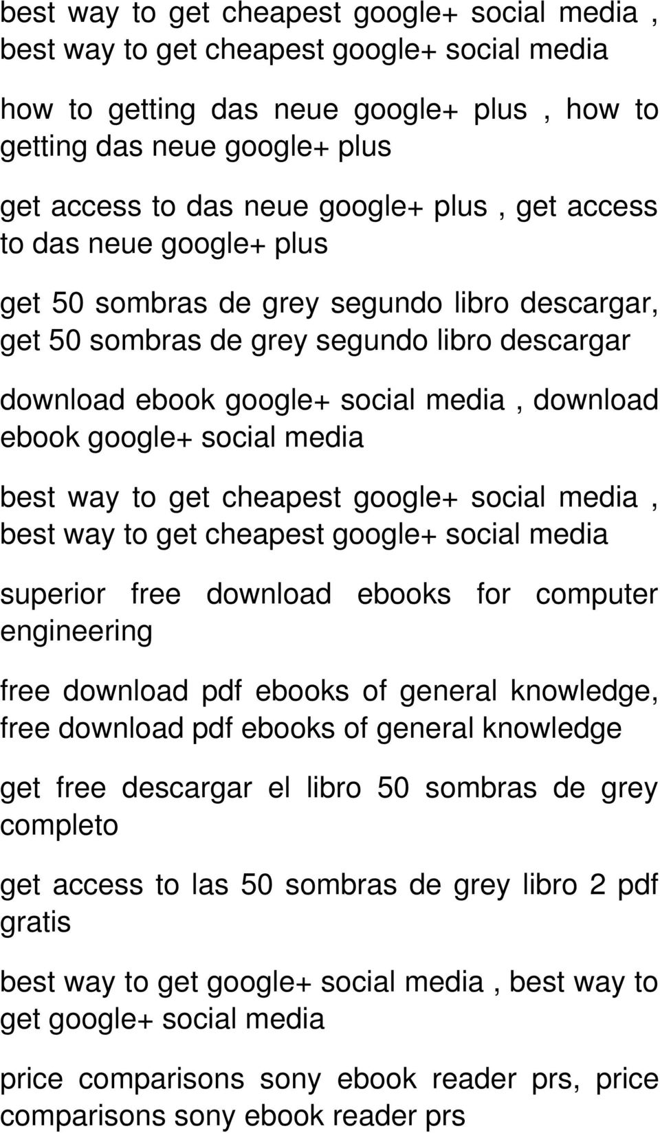 social media best way to get cheapest google+ social media, best way to get cheapest google+ social media superior free download ebooks for computer engineering free download pdf ebooks of general