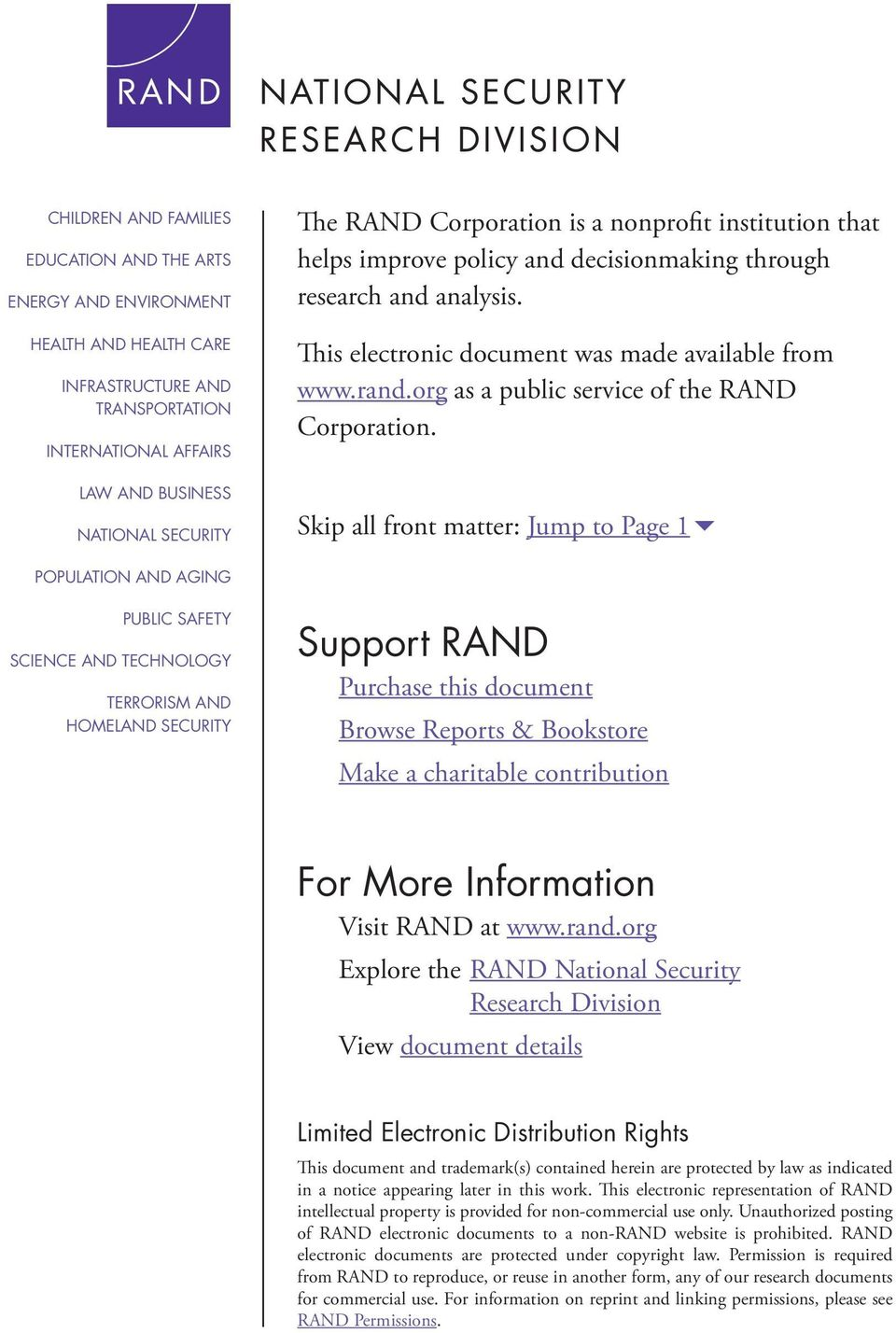 org as a public service of the RAND Corporation.