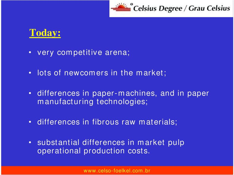 manufacturing technologies; differences in fibrous raw