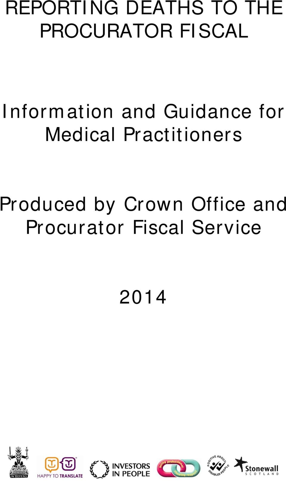 Medical Practitioners Produced by