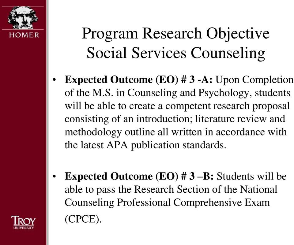 counseling psychology overview program