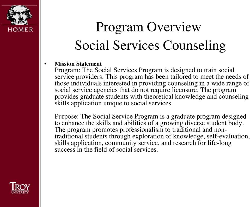 Guidance Counselor foundations of social science