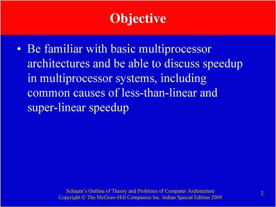 multiprocessor systems, including common causes