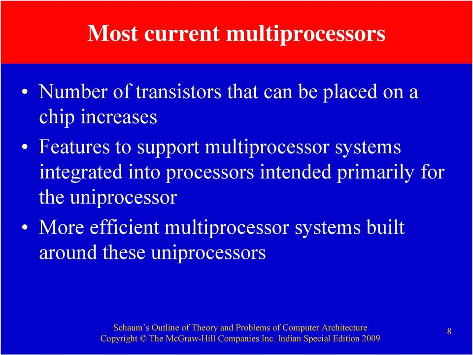 systems integrated into processors intended primarily for the