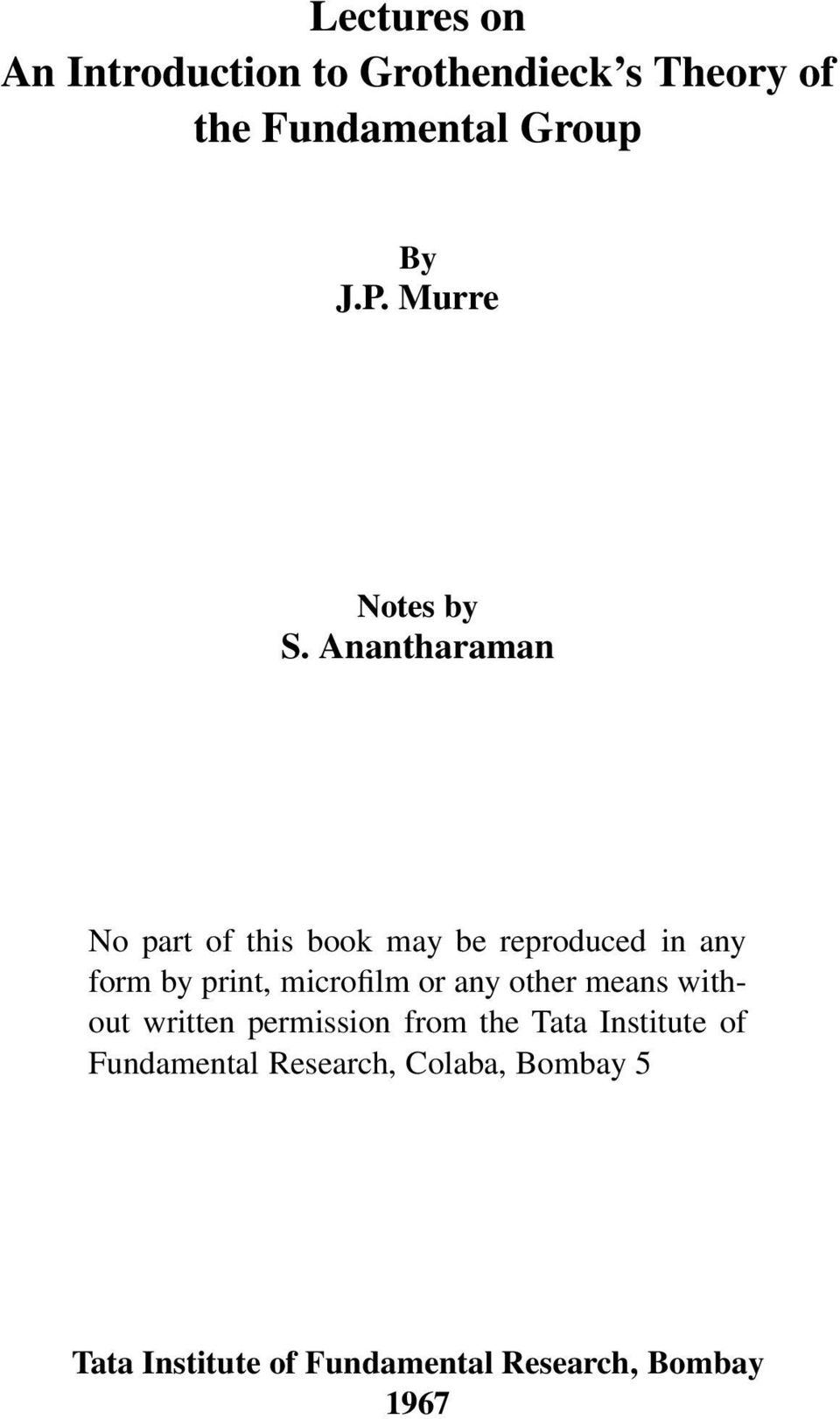 nantharaman No part of this book may be reproduced in any form by print, microfilm or