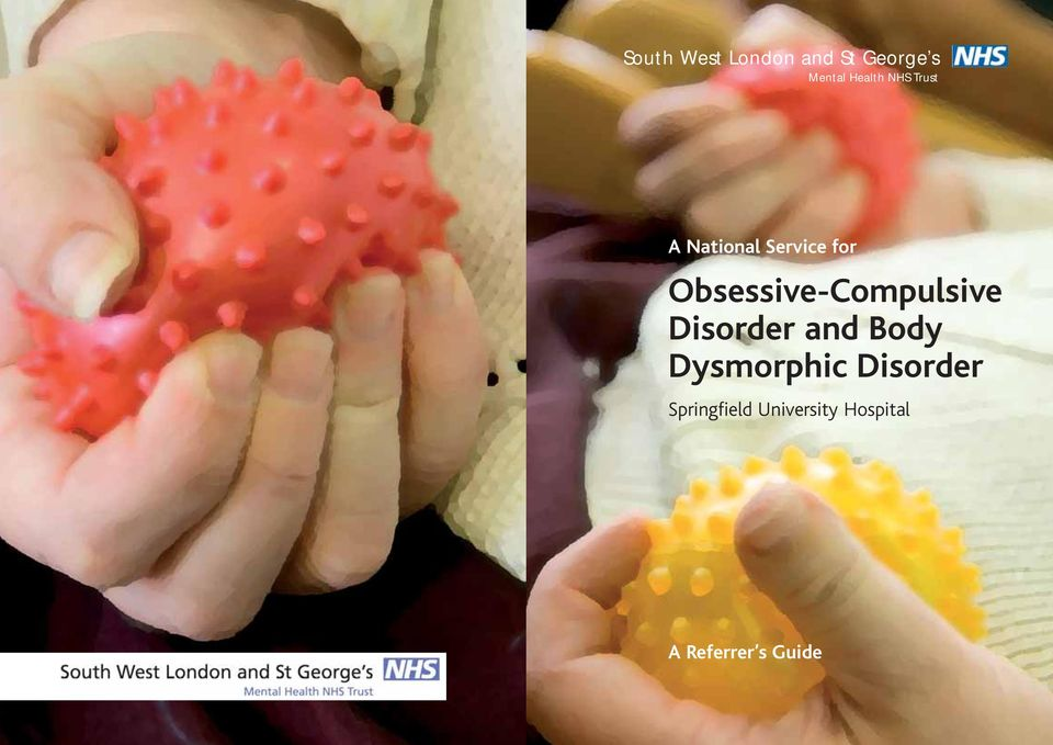 Obsessive-Compulsive Disorder and Body
