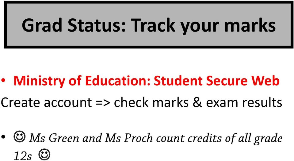 Student Secure Web Create