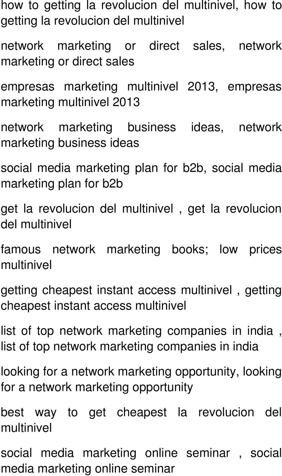 multinivel, get la revolucion del multinivel famous network marketing books; low prices multinivel getting cheapest instant access multinivel, getting cheapest instant access multinivel list of top