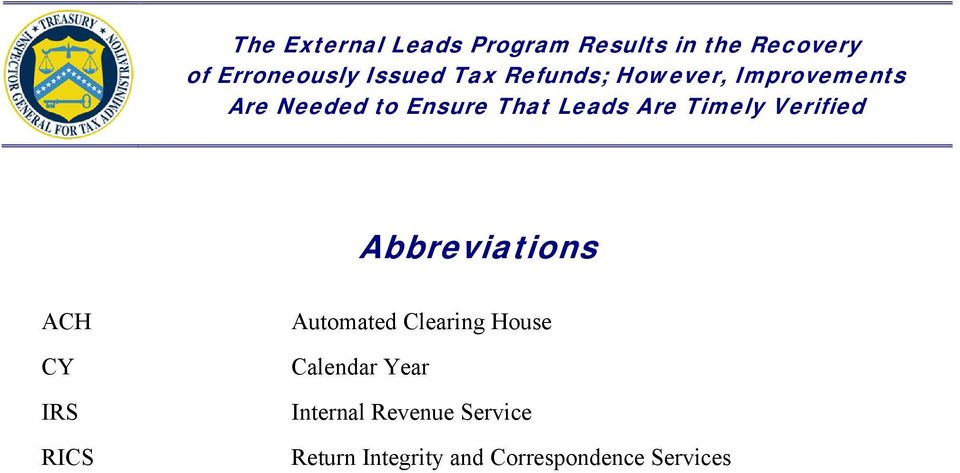 Year Internal Revenue Service