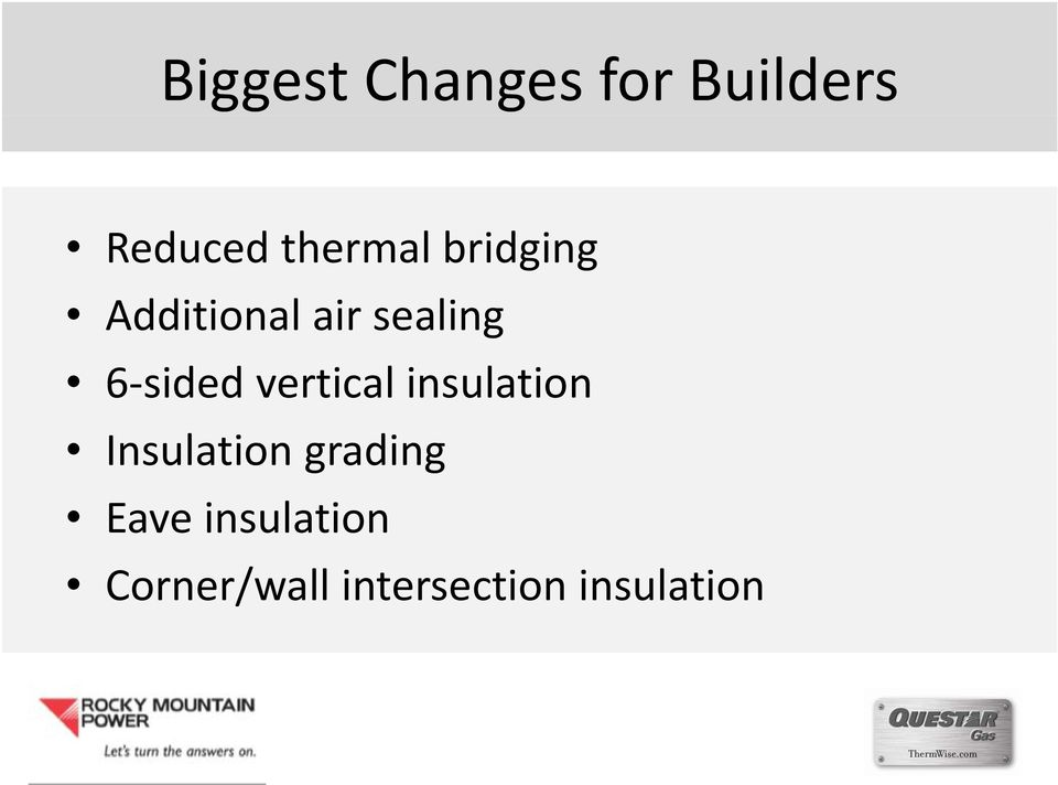 sided vertical insulation Insulation