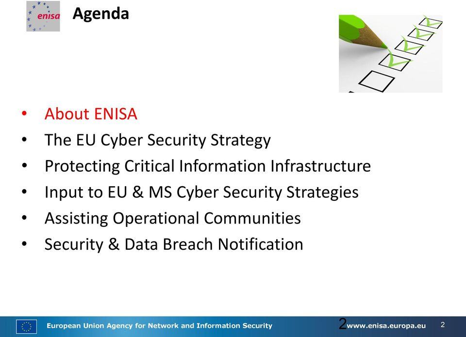 Assisting Operational Communities Security & Data Breach Notification