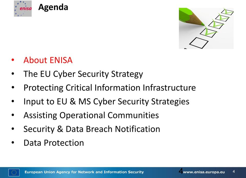 Assisting Operational Communities Security & Data Breach Notification Data