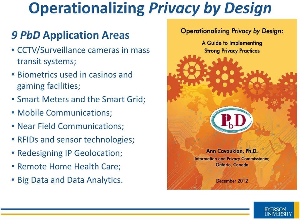 the Smart Grid; Mobile Communications; Near Field Communications; RFIDs and sensor