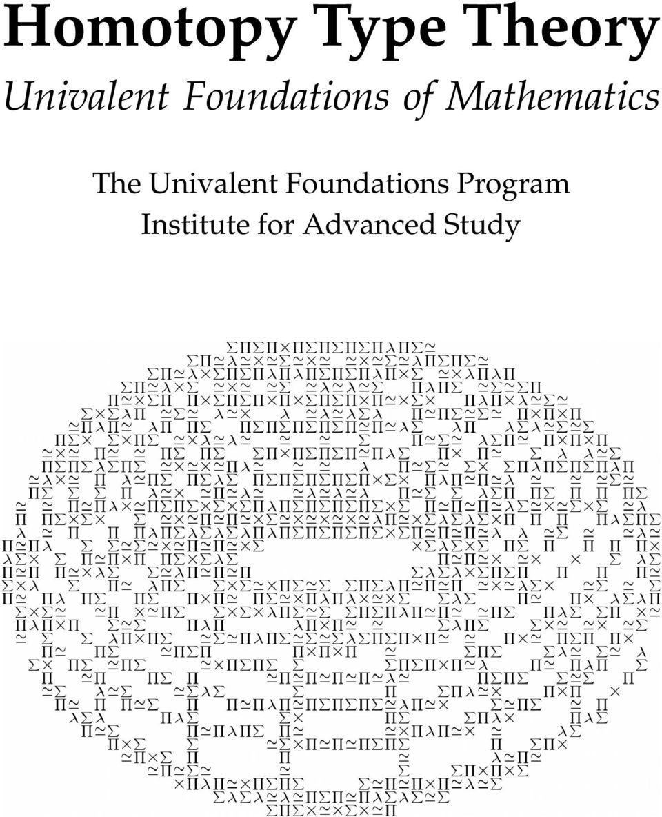 Mathematics The Univalent