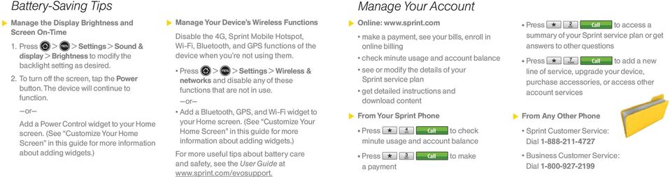 (See Customize Your Home Screen in this guide for more information about adding widgets.