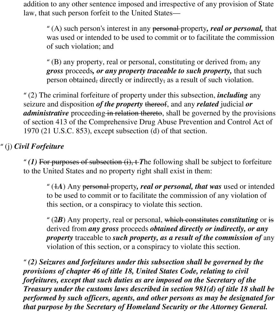 or any property traceable to such property, that such person obtained, directly or indirectly, as a result of such violation.