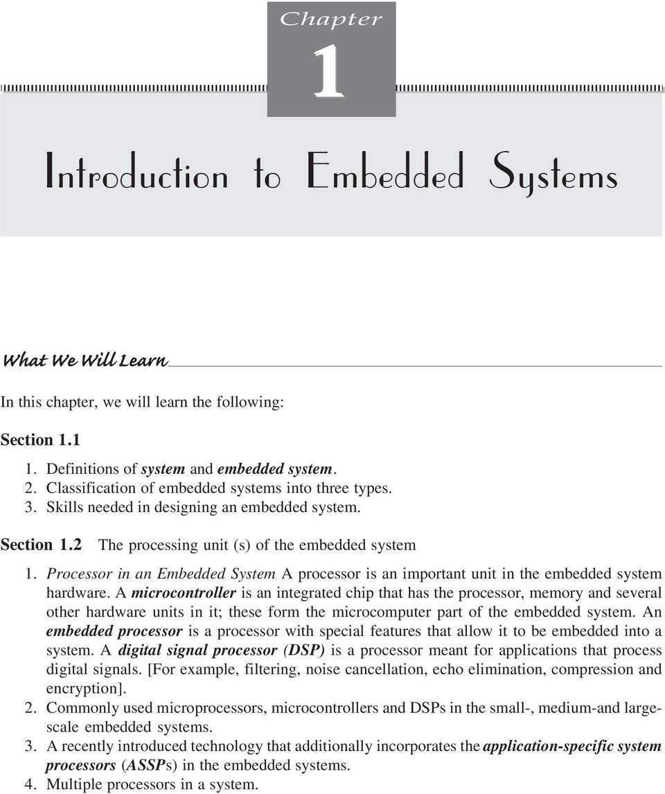 Introduction To Embedded Systems Pdf Free Download