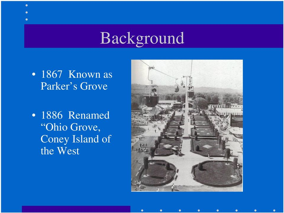 Renamed Ohio Grove,
