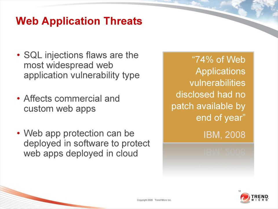 protection can be deployed in software to protect web apps deployed in cloud 74%
